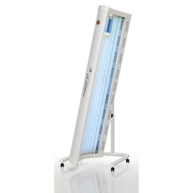 Solarium Hapro Topaz 10/1 V orientabile su rotelle