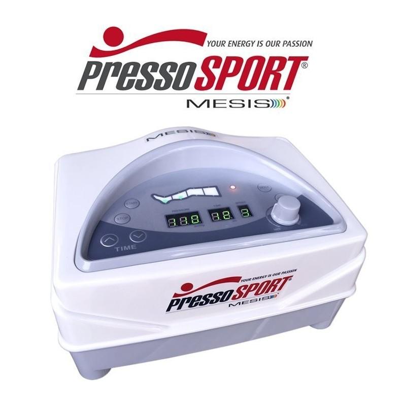 Pressoterapia PressoSport® MESIS® del Dr. W Bottega con 2 Gambali CPS