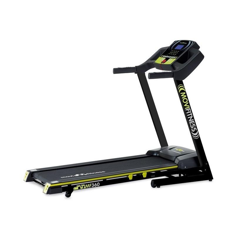 Tapis roulant Movi Fitness MF360 - inclinazione elettrica - 2.0 hp - piano di corsa 42 x 130 cm
