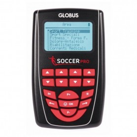 Elettrostimolatore Globus SOCCER PRO - linea sport