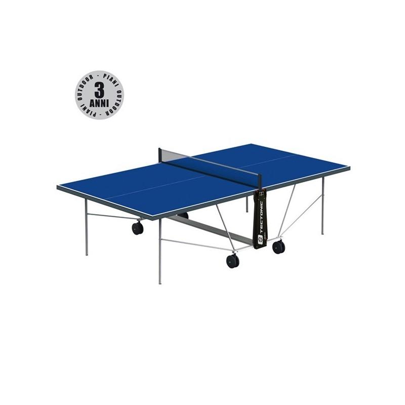 Tavolo Ping Pong Cornilleau TECTO OUTDOOR + set 2 racchette omaggio