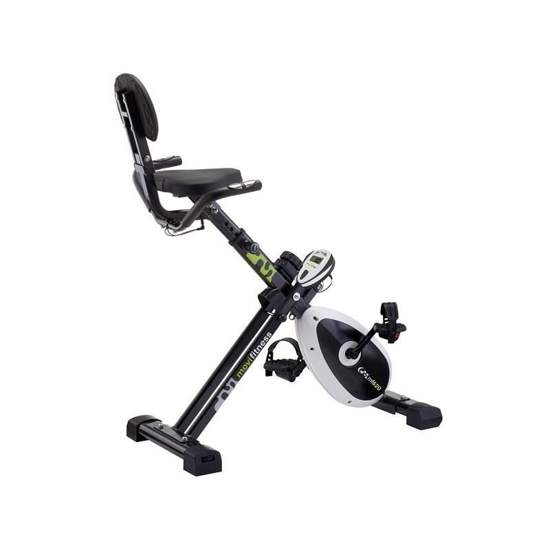 Cyclette Movi Fitness MF620 reclinata richiudibile