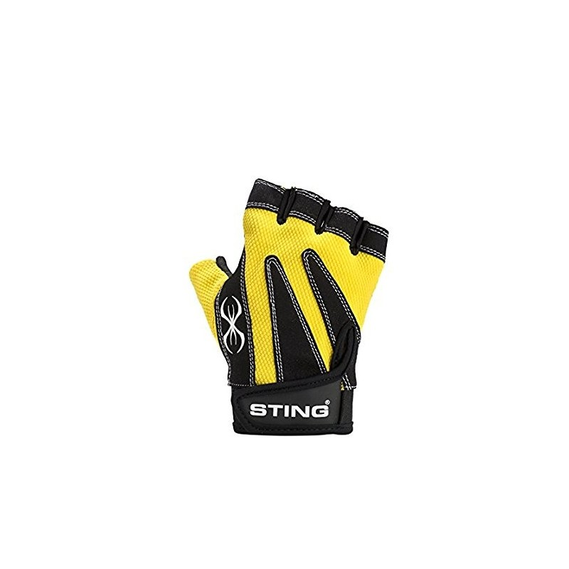 STING M1 MAGNUM GUANTO FITNESS GIALLO FLUO