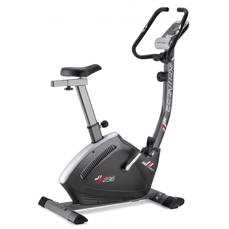 Cyclette magnetica Professional 236 JK Fitness - volano 9 kg - peso max utente 120 kg