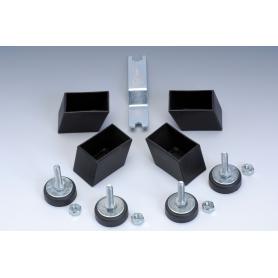 Serie 4 piedini regolabili per Foldy, G-2000, G-2000 Weatherproof