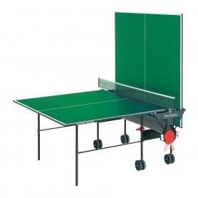 Training Indoor con ruote - piano verde - per interno