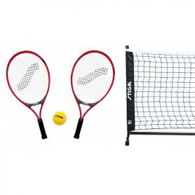 Set MINITENNIS 2 racchette JR TECH 21, 1 pallina soft, rete supporti