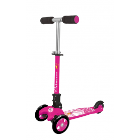 Monopattino a tre ruote ADVENTURE KID PRINCESS fucsia