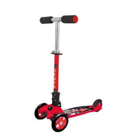 Monopattino a tre ruote ADVENTURE KID GRAND PRIX   rosso