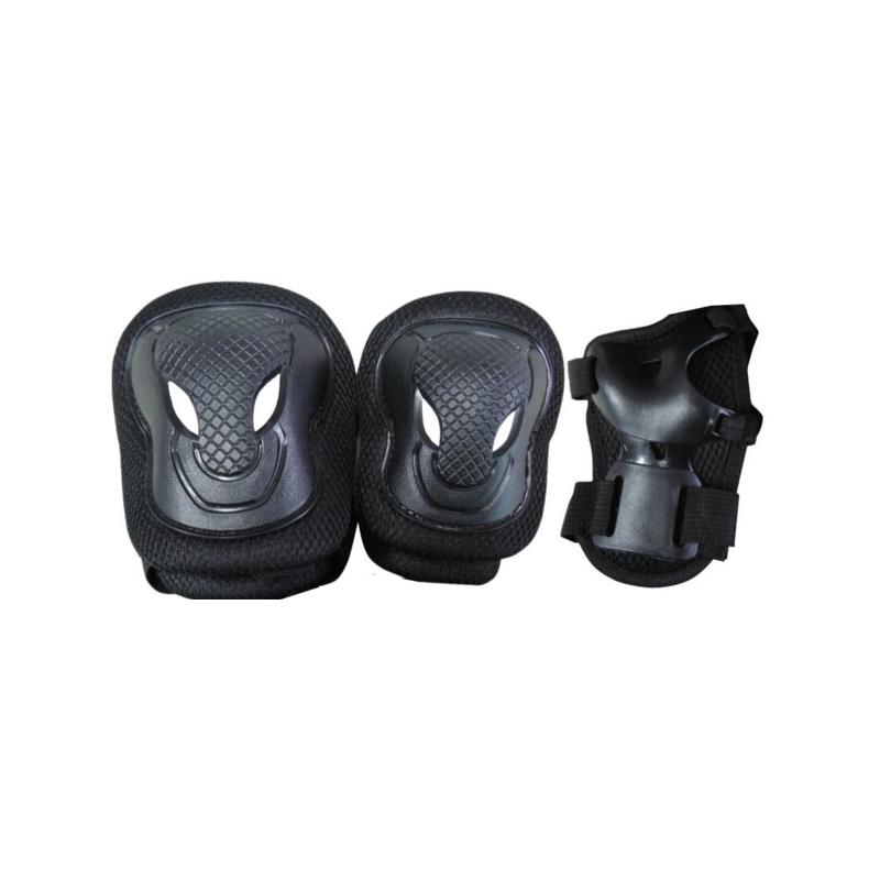 Set di protezioni SENIOR  nero peso utilizzatore oltre 50 kg.