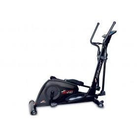 Ellittica JK Fitness JK 416 - peso volano 16 kg - elettromagnetica
