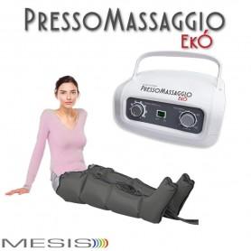 Pressoterapia PressoMassaggio® MESIS® EkÓ Massaggio Linfodrenaggio con 2 Gambali
