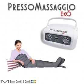 Pressoterapia PressoMassaggio® MESIS® EkÓ Massaggio Linfodrenaggio con 2 Gambali + Kit Slim Body