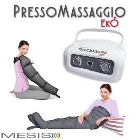 Pressoterapia PressoMassaggio® MESIS® EkÓ Massaggio Linfodrenaggio 2 Gambali + Kit Slim Body + Bracciale
