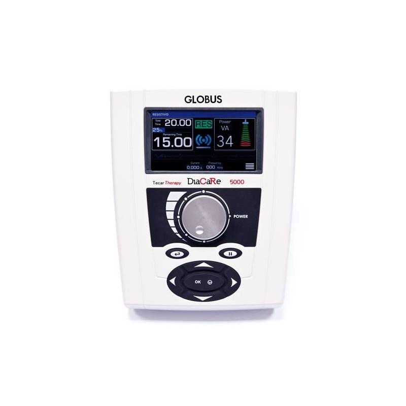 Tecar Terapia Globus DIACARE 5000 RE - professionale