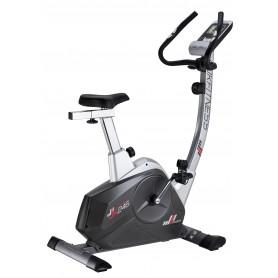 Cyclette magnetica Professional 246 JK Fitness - volano 10 kg - peso max utente 120 kg