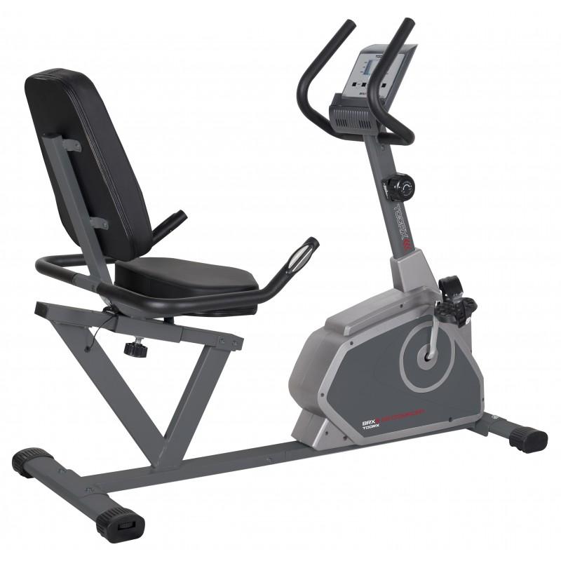 Cyclette reclinata BRX R65 Comfort Toorx - volano 7 kg - peso max utente 110 kg
