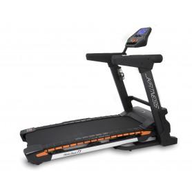 Tapis roulant  JK Fitness Wave deck T5 - super ammortizzato - inclinazione elettrica - 3.0 hp - piano di corsa 50 x 140 cm
