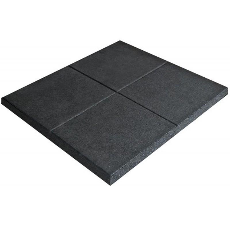 Pavimentazione gommata Diamond professional 100 x 100 x 2 granulo ultrafine con fuga