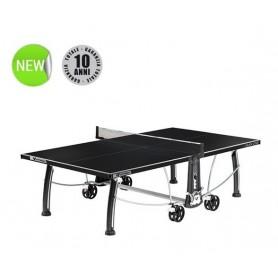 Tavolo Ping Pong Cornilleau BLACK CODE - outdoor - piano nero
