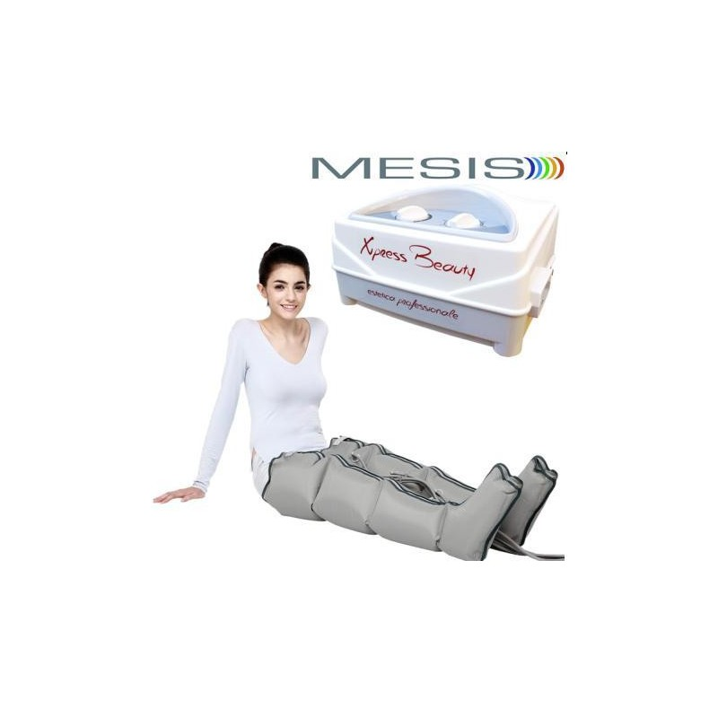 Pressoterapia MESIS® XPRESS BEAUTY con 2 Gambali