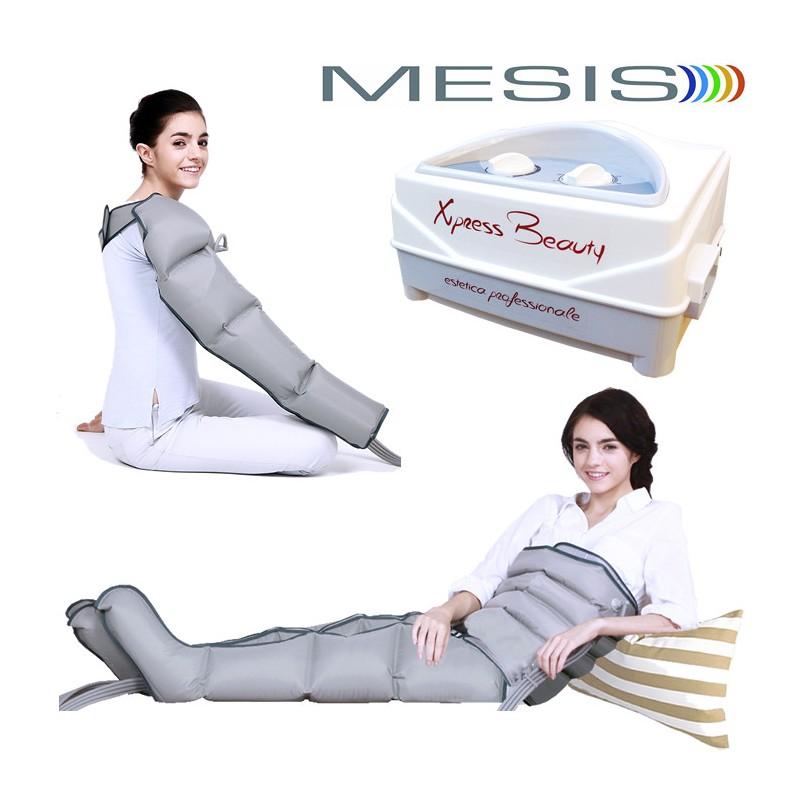 Pressoterapia MESIS® XPRESS BEAUTY con 2 Gambali + Kit Slim Body + Bracciale