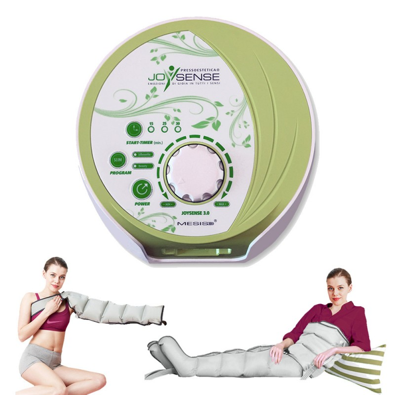 Pressoterapia PressoEstetica® MESIS® JOYSENSE® 3.0 con 2 Gambali + Kit Estetica + Bracciale