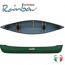 Apache 15' Rainbow Kayak canoa canadese