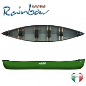 Apache 17' Rainbow Kayak canoa canadese