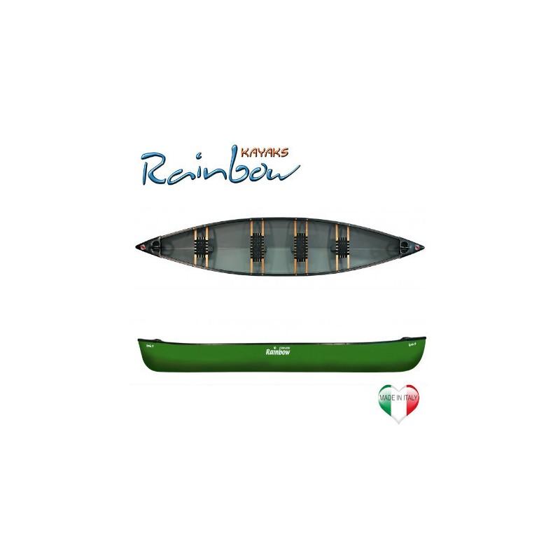 Canoa canadese Rainbow APACHE 17'