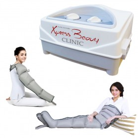 Pressoterapia MESIS® XPRESS BEAUTY CLINIC con 2 Gambali + Kit Slim Body + Bracciale