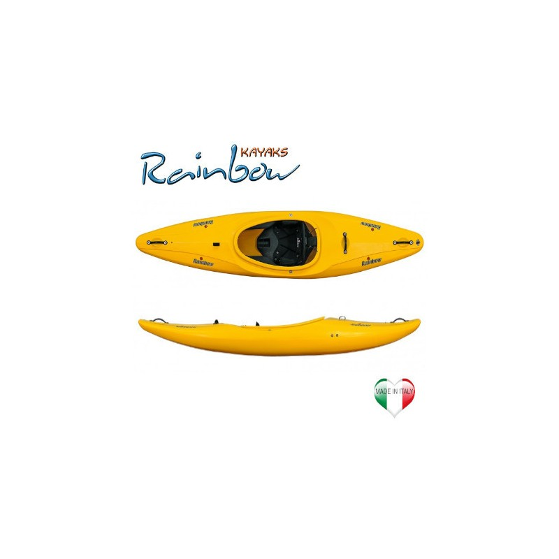 Kayak Creek Rainbow VECTOR