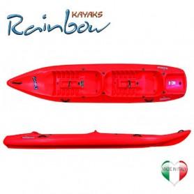 Canoa 2 posti Funny twin new Rainbow kayak