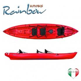 Canoa 2-3 posti Orca expedition Rainbow