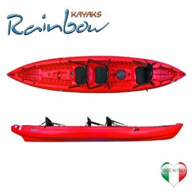 Canoa 2-3 posti Rainbow ORCA Expedition