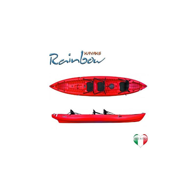 Kayak 2-3 posti Rainbow ORCA EXPEDITION